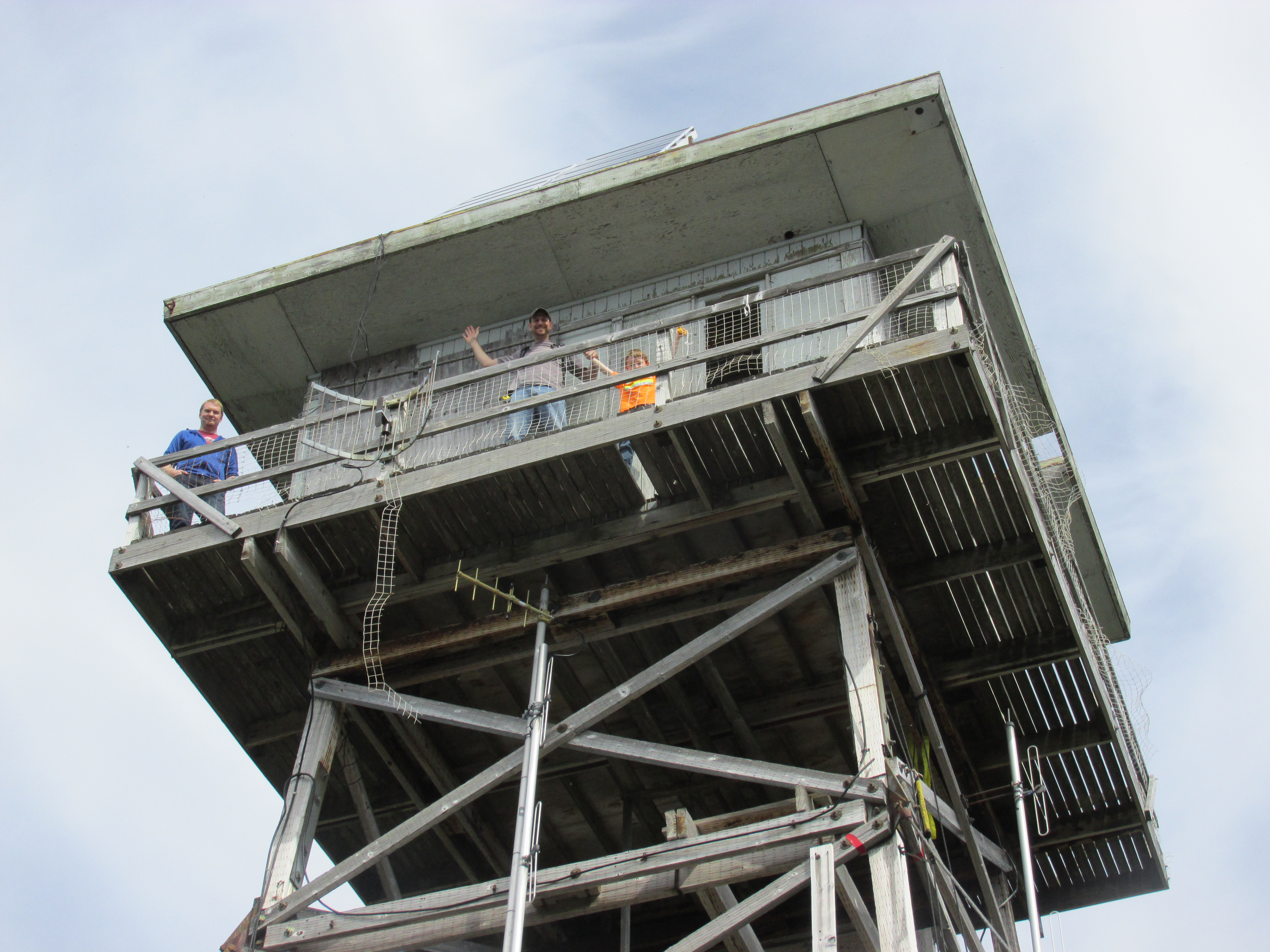 lookout tower repair